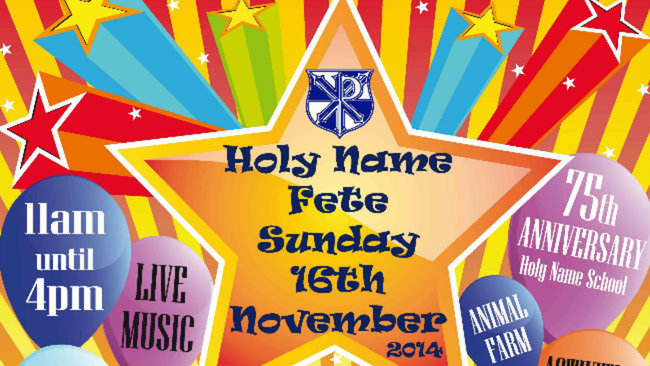 Our Fete – What a Sucess! Thank You to the Holy Name Community!
