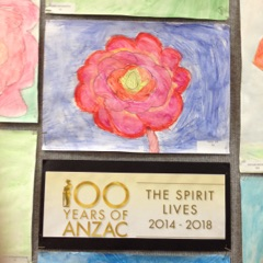 Holy Name Students Commemorate 100 Years of ANZAC