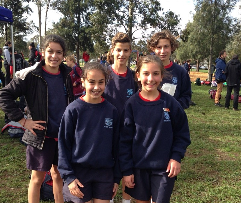 Congratulations to our Cross Country Participants!