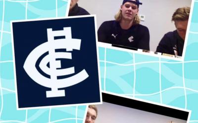 Carlton Football Club Virtual Player Visit